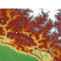 Nearby Forecast Locations - Дипаял-Силгадхи - карта