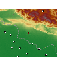 Nearby Forecast Locations - Pipara Simara - карта