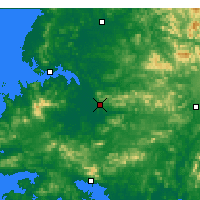 Nearby Forecast Locations - Саривон - карта