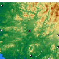 Nearby Forecast Locations - Singye - карта