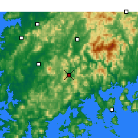 Nearby Forecast Locations - Сунчхон - карта