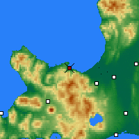 Nearby Forecast Locations - Отару - карта