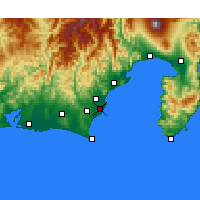 Nearby Forecast Locations - Яидзу - карта