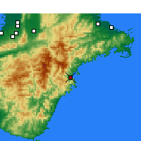 Nearby Forecast Locations - Овасе - карта