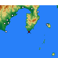 Nearby Forecast Locations - Irozaki - карта