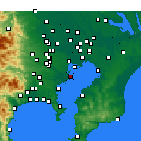 Nearby Forecast Locations - Ота - карта