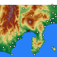 Nearby Forecast Locations - Фудзи - карта