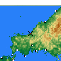 Nearby Forecast Locations - Хаги - карта