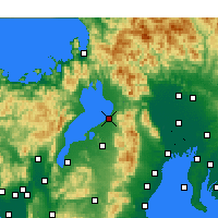 Nearby Forecast Locations - Хиконе - карта