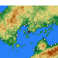 Nearby Forecast Locations - Куре - карта