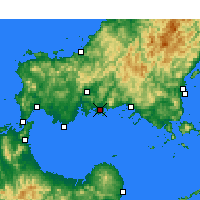 Nearby Forecast Locations - Хофу - карта