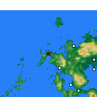 Nearby Forecast Locations - Хирадо - карта