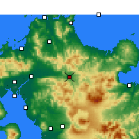 Nearby Forecast Locations - Хита - карта