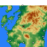 Nearby Forecast Locations - Хитоёси - карта