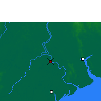 Nearby Forecast Locations - Ma-ubin - карта