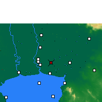 Nearby Forecast Locations - Суварнабхуми - карта