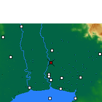 Nearby Forecast Locations - Don Mueang - карта