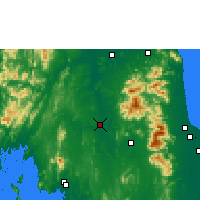 Nearby Forecast Locations - Phrasang - карта