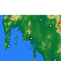 Nearby Forecast Locations - Краби - карта