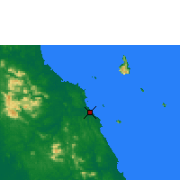 Nearby Forecast Locations - Mersing - карта