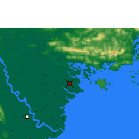 Nearby Forecast Locations - Phu Lien - карта