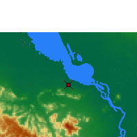Nearby Forecast Locations - Krakor - карта
