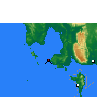 Nearby Forecast Locations - Sihanoukville - карта