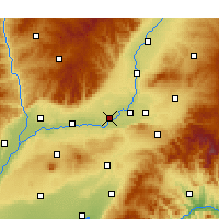 Nearby Forecast Locations - Xinjiang - карта
