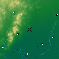 Nearby Forecast Locations - Heishan - карта