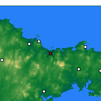 Nearby Forecast Locations - Muping - карта
