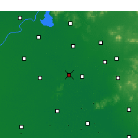 Nearby Forecast Locations - Jiaxiang - карта