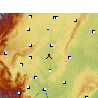 Nearby Forecast Locations - Мэйшань - карта