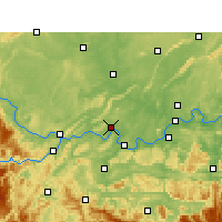 Nearby Forecast Locations - Nanxi/SCH - карта