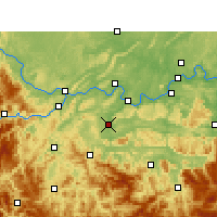 Nearby Forecast Locations - Changning - карта