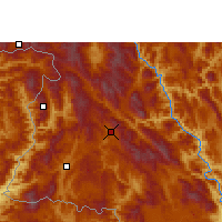 Nearby Forecast Locations - Lancang - карта