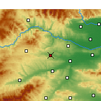 Nearby Forecast Locations - Xinan - карта