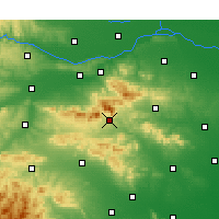 Nearby Forecast Locations - Дэнфэн - карта
