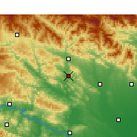 Nearby Forecast Locations - Xichuan - карта