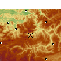 Nearby Forecast Locations - Гулинь - карта