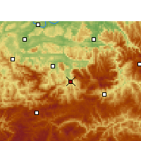 Nearby Forecast Locations - Сюйюн - карта