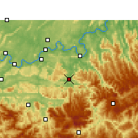 Nearby Forecast Locations - Chishui - карта