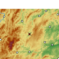 Nearby Forecast Locations - Songtao - карта