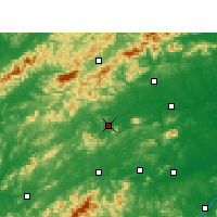 Nearby Forecast Locations - Wanzai - карта