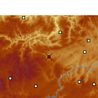 Nearby Forecast Locations - Jinsha - карта