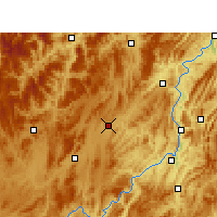 Nearby Forecast Locations - Fenggang - карта
