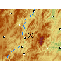 Nearby Forecast Locations - Yinjiang - карта