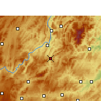 Nearby Forecast Locations - Shiqian - карта