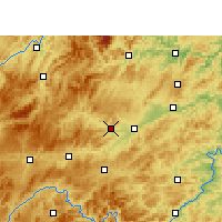 Nearby Forecast Locations - Cengong - карта
