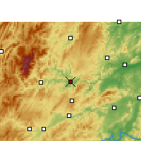 Nearby Forecast Locations - Tongren - карта