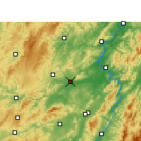 Nearby Forecast Locations - Mayang - карта